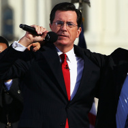 Jon Stewart And Stephen Colbert Hold Rally On National Mall