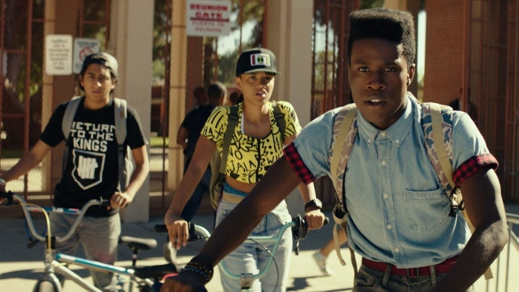 """On Sunday, June 7, KPCC & The Frame hosted an advance screening of """"Dope,"""" the indie hit from this year's Sundance Film Festival, at Cinemark Baldwin Hills Crenshaw Plaza 15 for"""