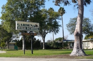 An alleged student pulled a gun from his backpack firing and hitting at least two students at Gardena High School.
