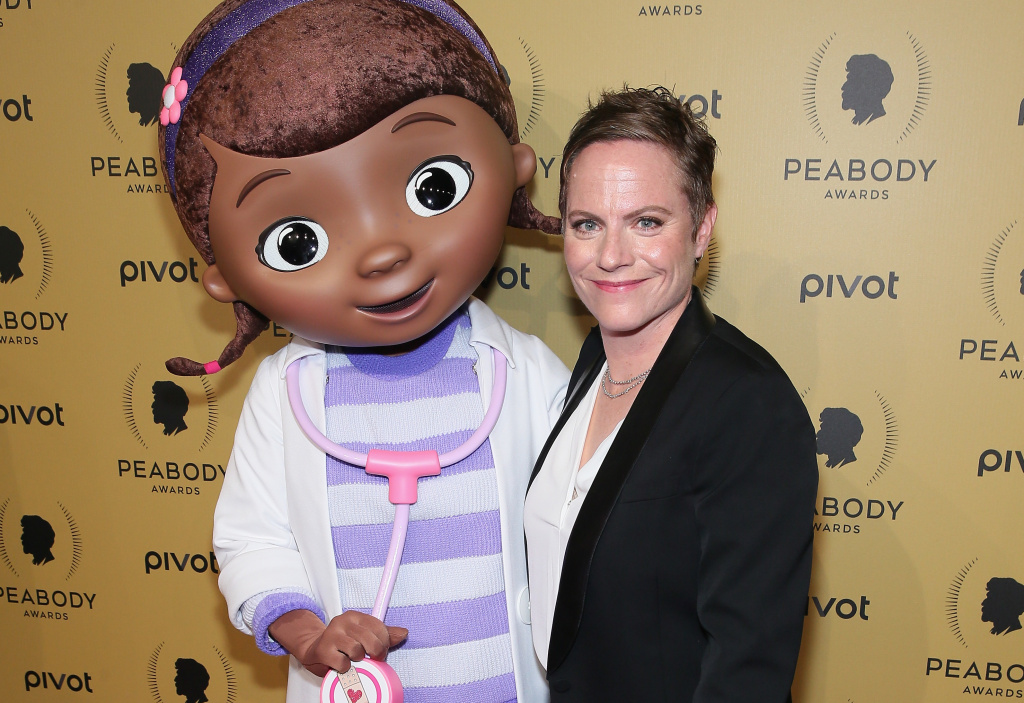 "Doc McStuffins and Creator and Executive Producer of ""Doc McStuffins"", Chris Nee."