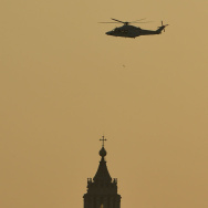 ITALY-VATICAN-POPE-HELICOPTER