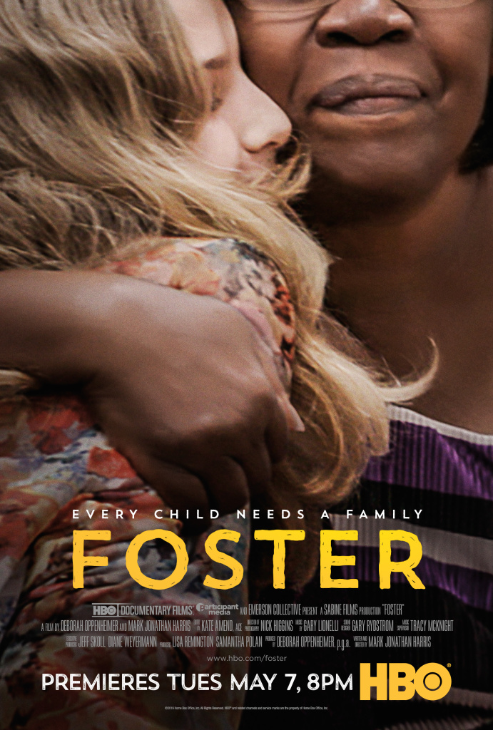 The documentary Foster premieres May 7 on HBO on Foster Care Appreciation Day during National Foster Care Month.