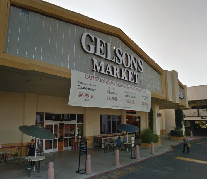 The Gelson's Market in Sherman Oaks, Calif. (File photo)