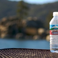arrowhead water bottle plastic