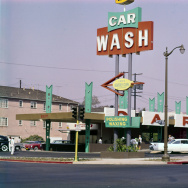 AV USE ONLY - retro LA car wash