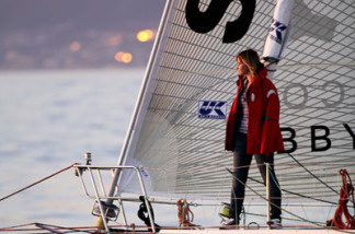 Abby Sunderland sets sail from Marina Del Ray on January 23, 2010 to begin her quest to become the youngest person to sail solo around the world.