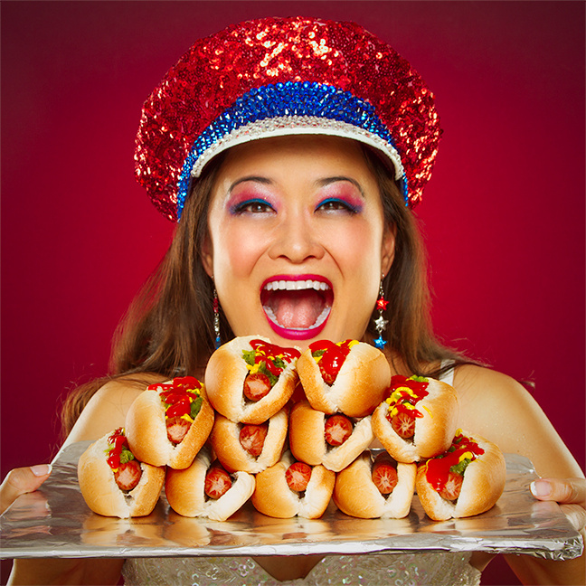 One of Nisei Week's more popular attractions will pit 17 eaters from all over the world, including local Mary Bowers.