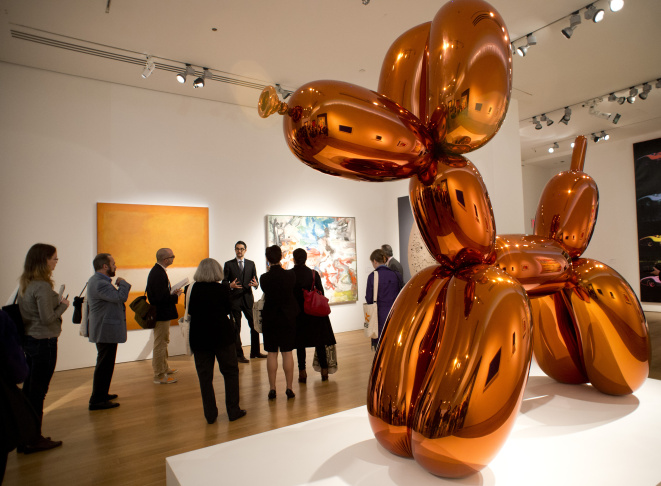 US-CHRISTIE'S-KOONS