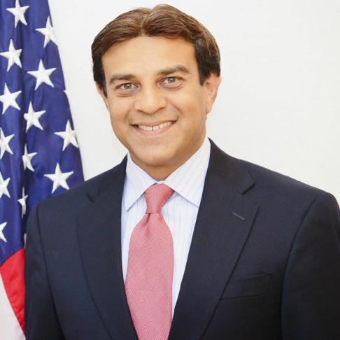 Republican California gubernatorial candidate Neel Kashkari.