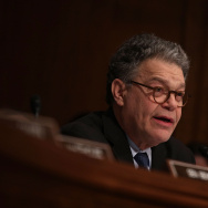 U.S. Sen. Al Franken (D-MN) speaks during a confirmation hearing of Health and Human Services Secretary Nominee Rep. Tom Price (R-GA) January 17, 2017 on Capitol Hill in Washington, DC.