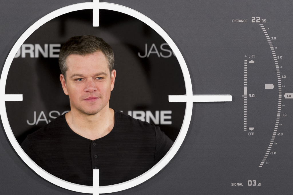 Actor Matt Damon attends
