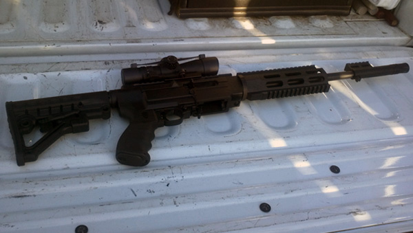 This 22-caliber Sturm Ruger semi-automatic rifle seized by state agents working in Modesto is one of thousands of illegal weapons confiscated from those are barred from owning guns.