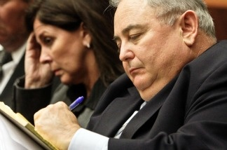 Former Bell City Administrator Robert Rizzo during a preliminary hearing at Los Angeles Superior Court on Feb. 22, 2011 in Los Angeles.