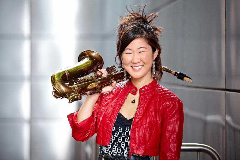 The next name in jazz? Sax player and singer Grace Kelly may