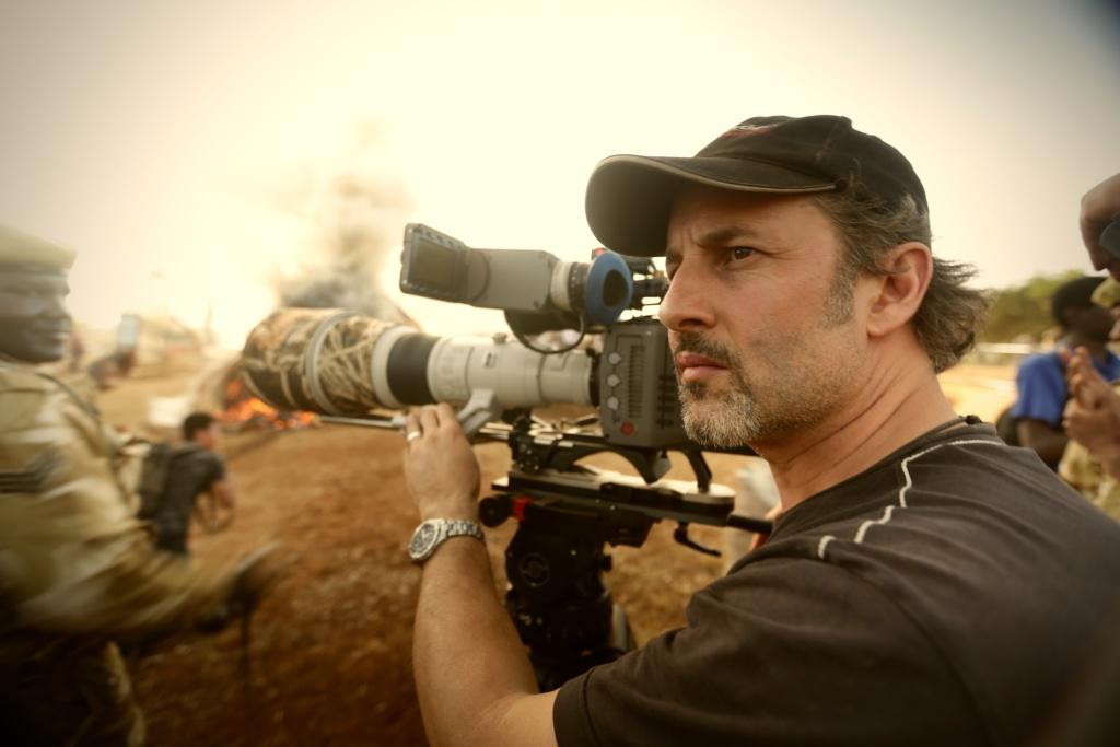 """""""The Ivory Game"""" director Richard Landkani."""
