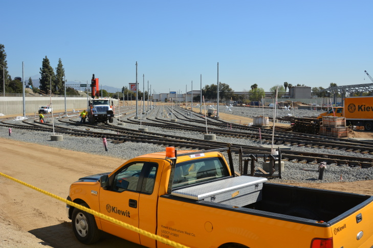 This Target was built in 2010, the same year the Gold Line Foothill Extension project began. Its entrance faces the Gold Line station in Azusa.