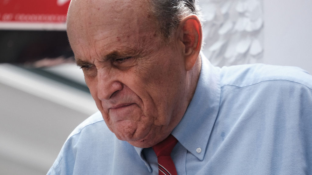 Former New York City Mayor Rudy Giuliani has been suspended from practicing law by a New York state court over his role in pushing false voter fraud claims.