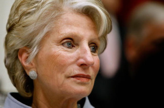 Rep. Jane Harman (D-CA) hears testimony from Obama Administration cabinet members during a hearing of the House Energy and Commerce Committee on Capitol Hill April 22, 2009 in Washington, DC.