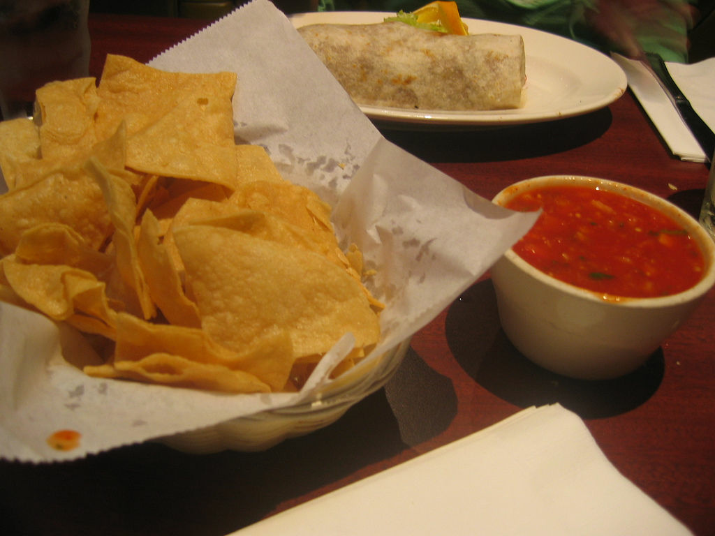 The chips and salsa at Antonio's, one of the many entries to Los Angeles' seven-year survey of historic resources.