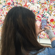 Visitors at The Broad are encouraged to take photos of the art and post them to social media.