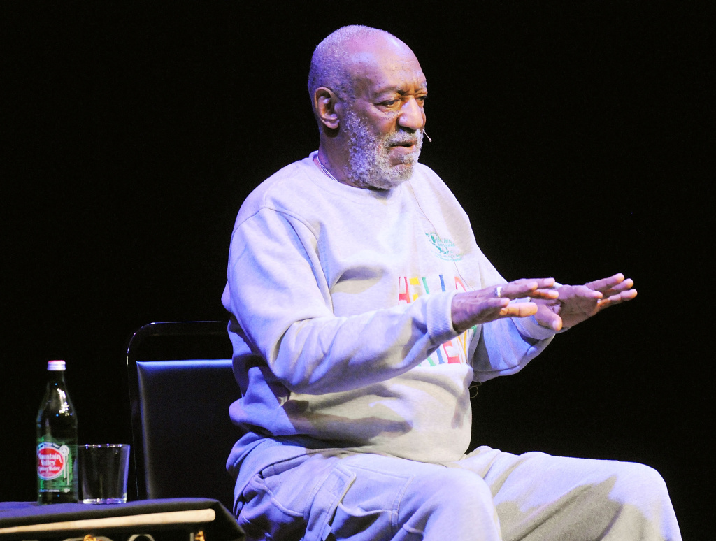In this file photo, actor Bill Cosby performs at  At King Center For The Performing Arts on November 21, 2014 in Melbourne, Florida. On Monday, December 1, 2014, Temple University announced the 77-year-old entertainer had resigned from its board.