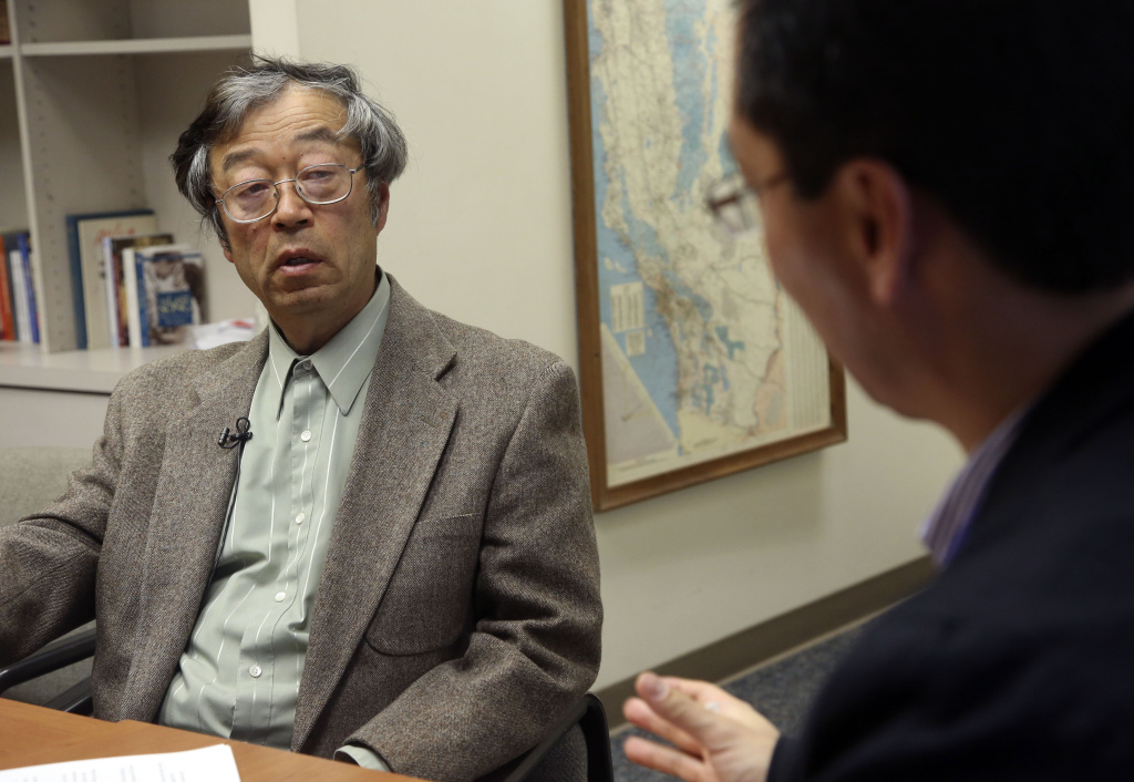 Dorian S. Nakamoto listens during an interview with the Associated Press, Thursday, March 6, 2014 in Los Angeles. Nakamoto, the man that Newsweek claims is the founder of Bitcoin, denies he had anything to do with it and says he had never even heard of the digital currency until his son told him he had been contacted by a reporter three weeks ago. The Los Angeles Times reports Nakamoto has hired a lawyer.