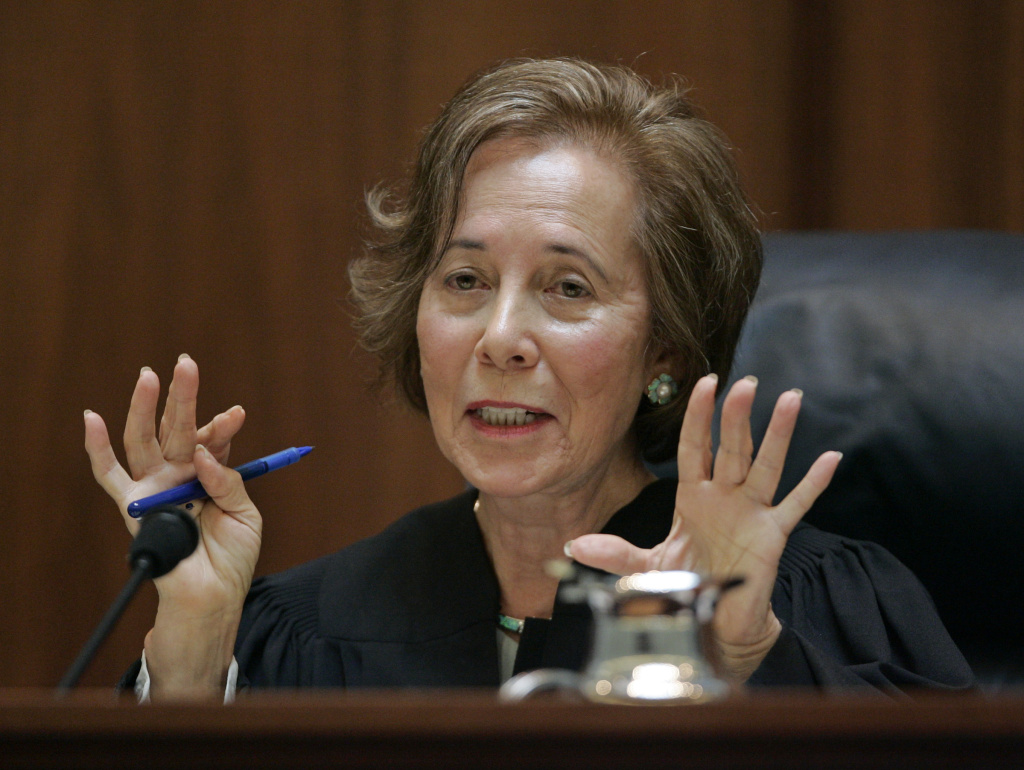 California Supreme Court Justice Joyce Kennard is the current longest serving justice in California. She plans to retire in April.