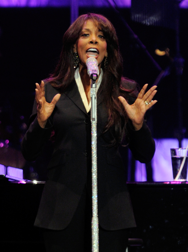 Singer Donna Summer performs during the David Foster and Friends concert at the Mandalay Bay Events Center October 1, 2011 in Las Vegas, Nevada.