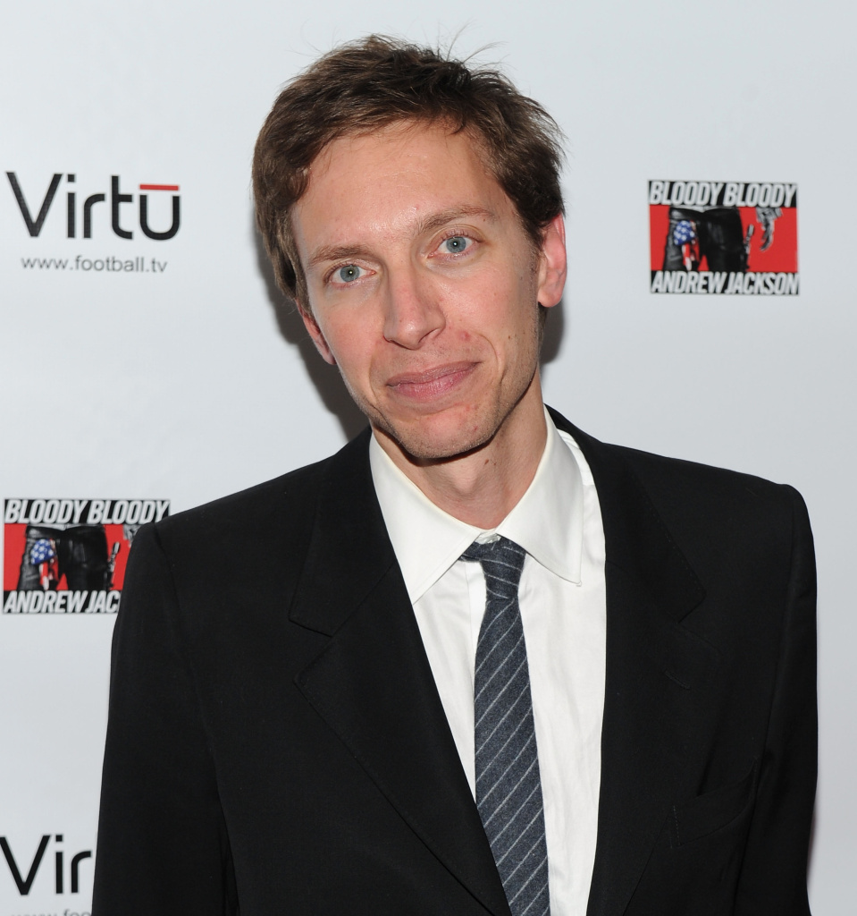 "Composer Michael Friedman attends the ""Bloody Bloody Jackson"" opening night after-party at on October 13, 2010 in New York City."