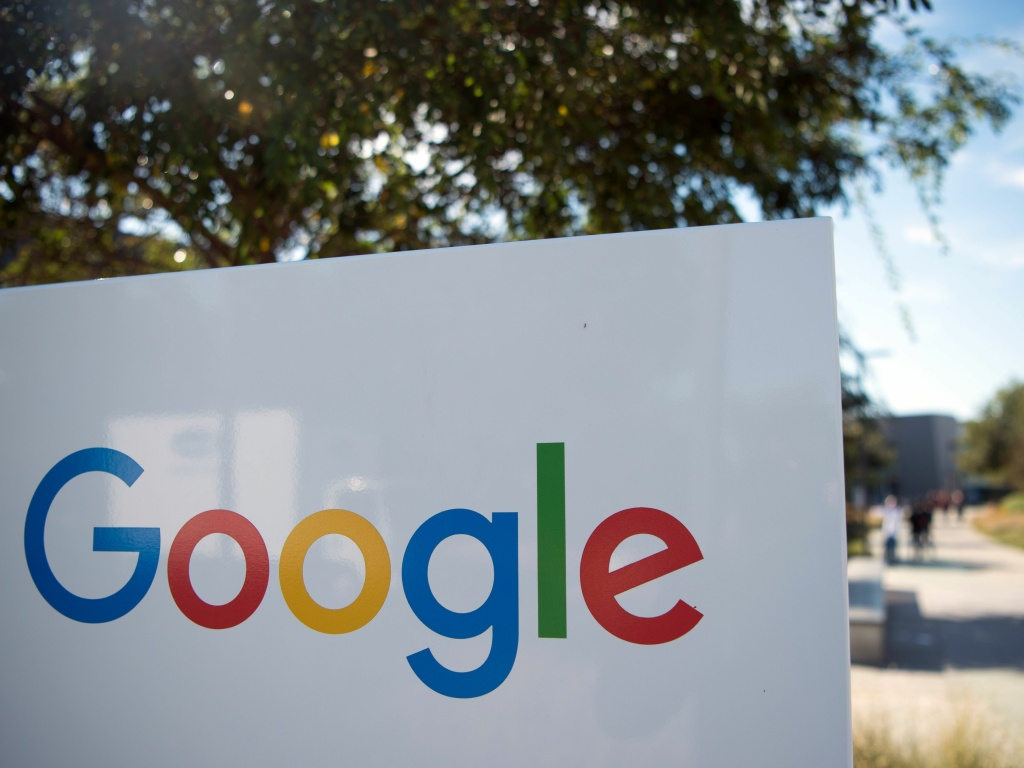 A Google sign and logo at the Googleplex in Menlo Park, Calif. This week, Google project manager spoke to Reuters about a problem discovered in the firm's email service.