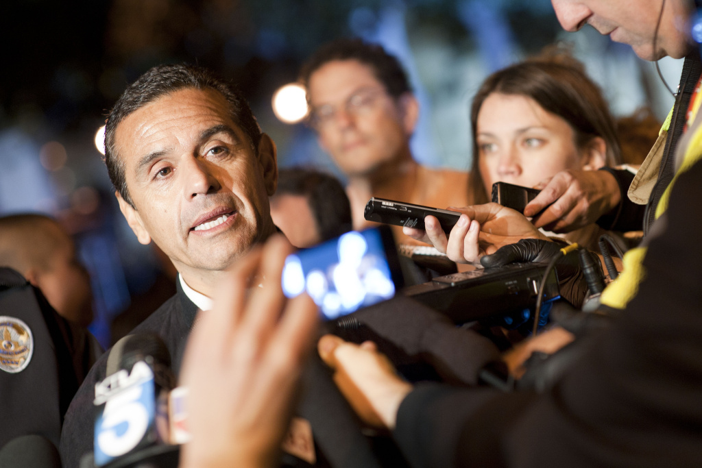 File: Mayor Antonio Villaraigosa