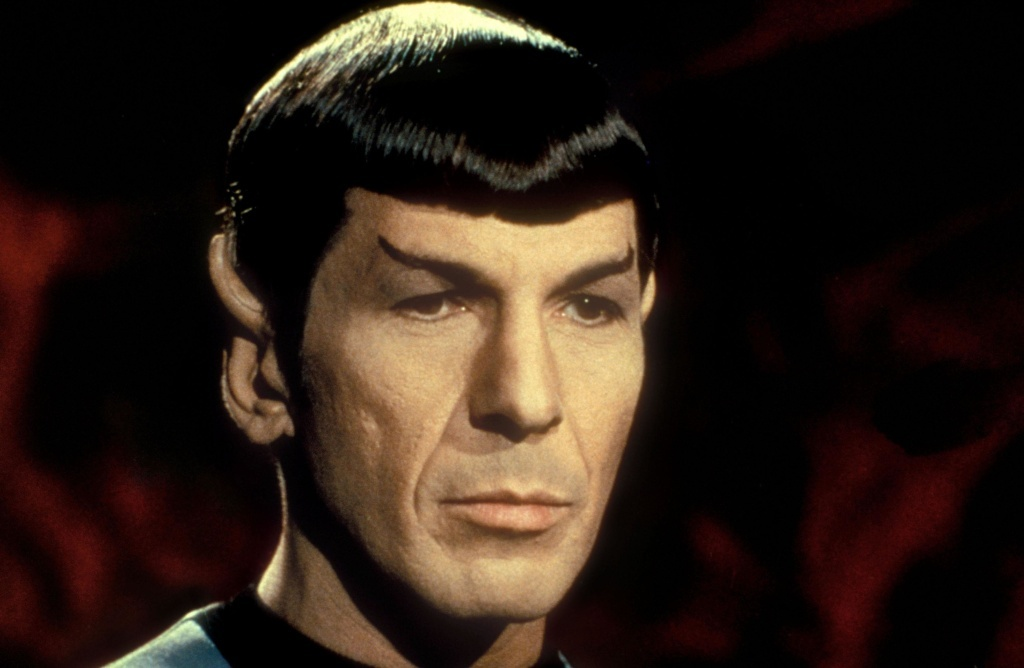 He'll do in a pinch: Leonard Nimoy as Mister Spock in the television series