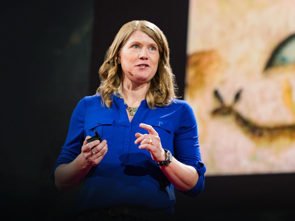 TED2016 TED Prize winner Sarah Parcak speaks at TED2016.