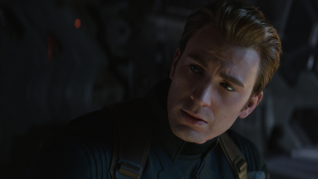 Chris Evans as Captain America in <em>Avengers: Endgame</em>. And yes, Cap, these are apparently the real numbers.
