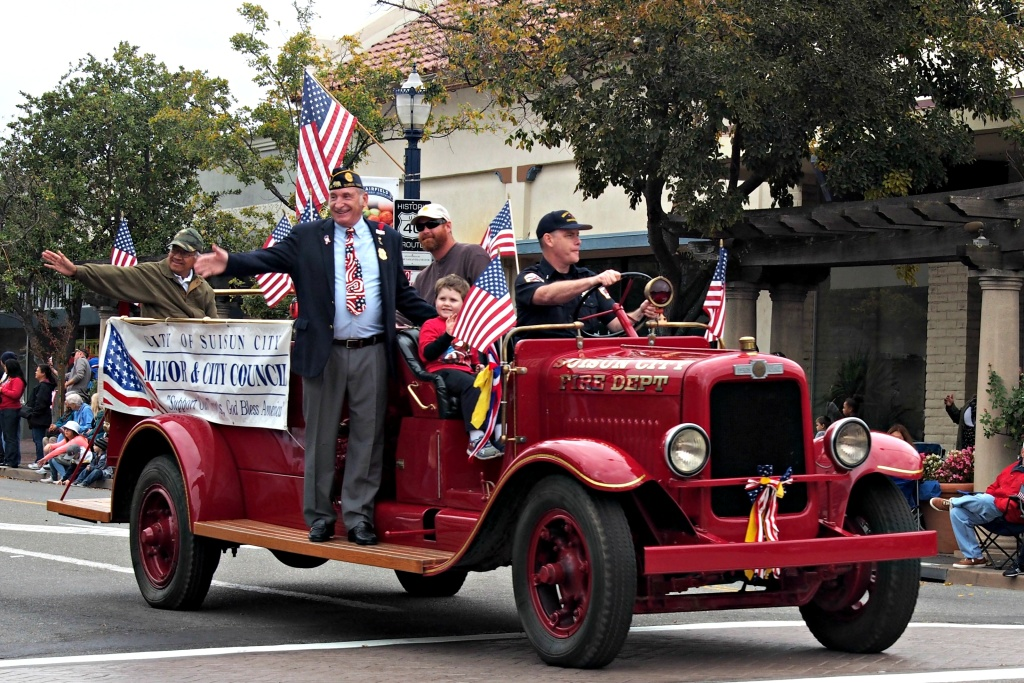 There are Veterans Day parades in Long Beach and the San Fernando Valley this weekend.