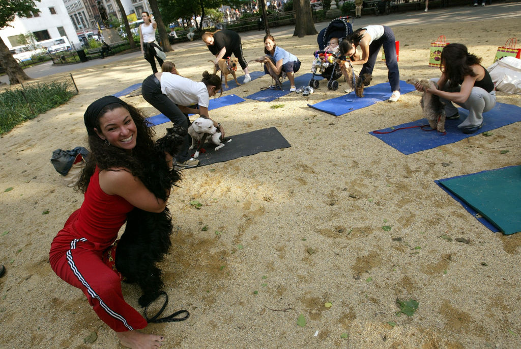 Should personal fitness instructors be taxed for holding classes in public parks?