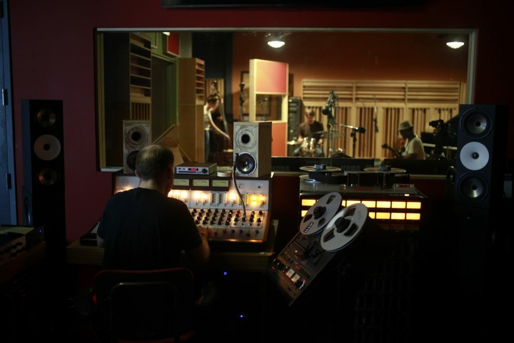 Adrian Younge's Linear Labs Studio in Highland Park.