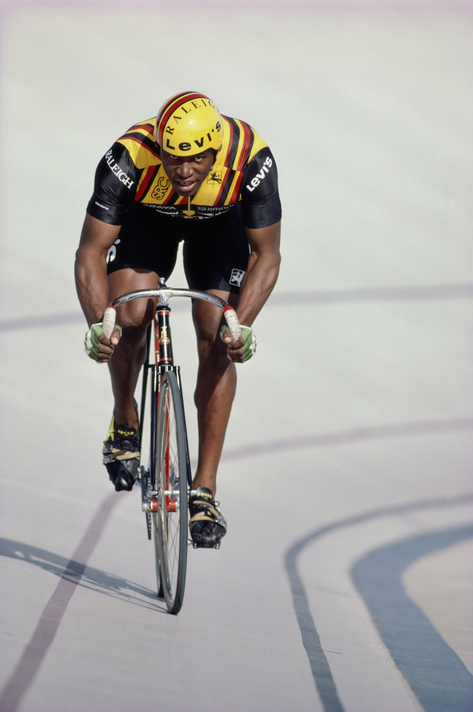 Nelson Vails grew up in Harlem, New York and worked as a bicycle messenger.