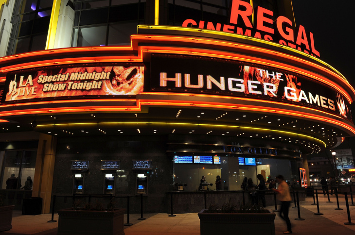 "Opening Night Of Lionsgate's ""The Hunger Games"""