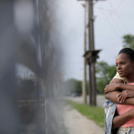 Tika Sumpter and Parker Sawyers in Southside With You.