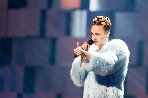 Danish singer and songwriter Karen Marie Orsted, also known by her stage name MØ, currently has the most listened to song on Spotify with