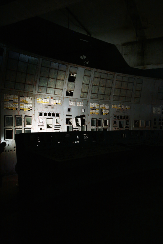 The Chernobyl Nuclear Power Plant is the site of the world's worst nuclear accident. Forster Rothbart shot this inside Control Room Four, where technicians lost control of the reactor that eventually expelled radioactive particles into the atmosphere and eventually around the world.