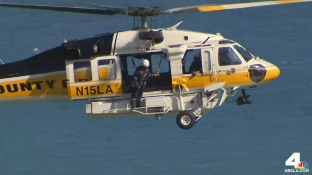 A man went missing about 3 p.m. Wednesday at Abalone Cove in Ranchos Palos Verdes. Dangerous waves and riptides in the area have brought rescuers to the spot in Shoreline Park for several days in a row.