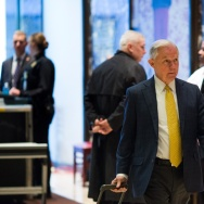 NEW YORK, NY - NOVEMBER 16: Alabama Senator Jeff Sessions arrives at Trump Tower on November 16, 2016 in New York City. Sessions is Trump's pick to head the Justice Department as Attorney General and faces senate confirmation hearings this week.