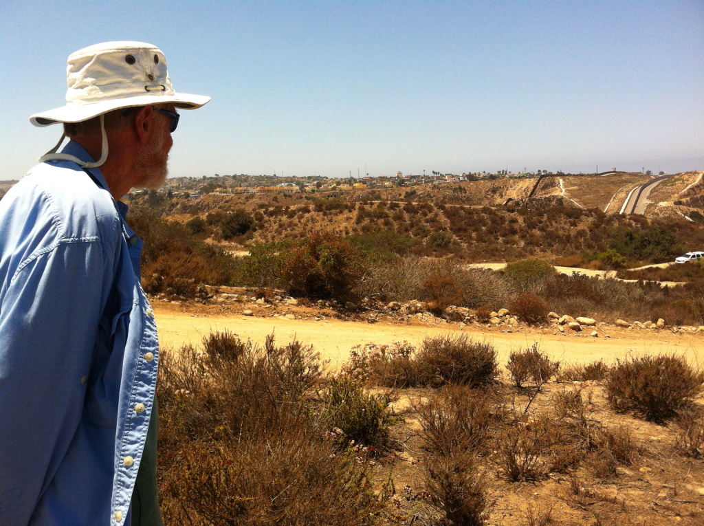 Mike McCoy, a long-time member of the advisory committee for the Tijuana River National Estuarine Research Reserve, worried that sedimentation from border fence construction would silt up the Tijuana River estuary. The estuarine reserve is one of 28 in the country set aside for conservation and research.