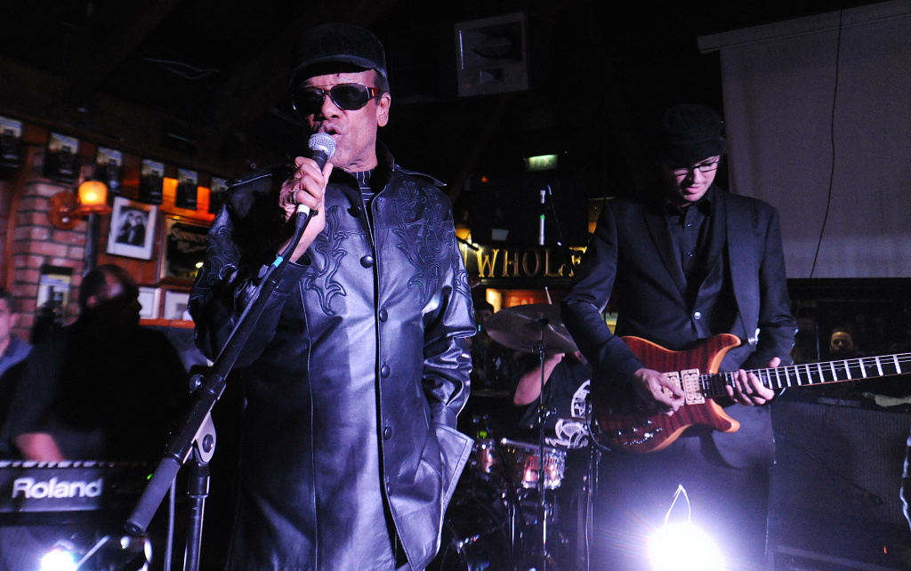 File: Bobby Womack performs at Sinnots as part of the fifth annual Arthur's Day celebrations on Sept. 26, 2013 in Dublin, Ireland.