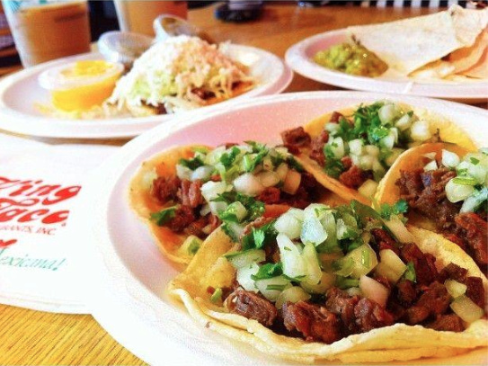 A screen shot from King Taco's Facebook page.