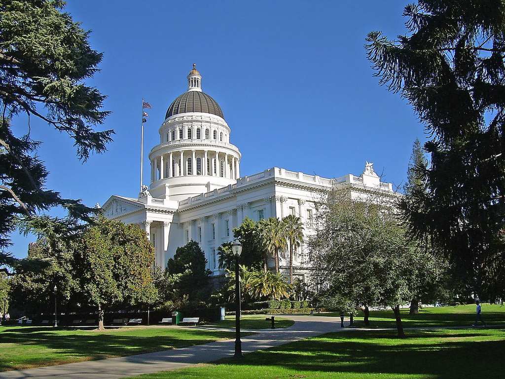 The California State Capitol in Sacramento. Some business and labor groups are pushing to change the Environmental Quality Act — specifically its  review process for building and construction projects.