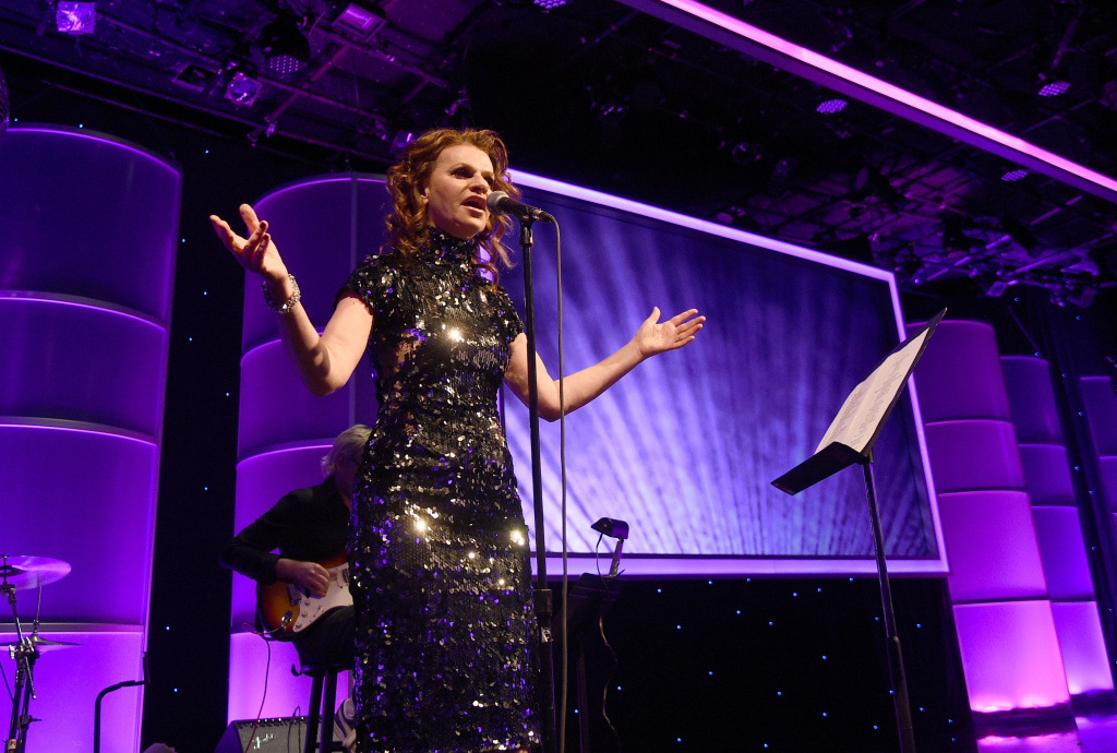 Sandra Bernhard hosts the Family Equality Council's Los Angeles Awards dinner at The Beverly Hilton Hotel on Feb. 28, 2015 in Beverly Hills.
