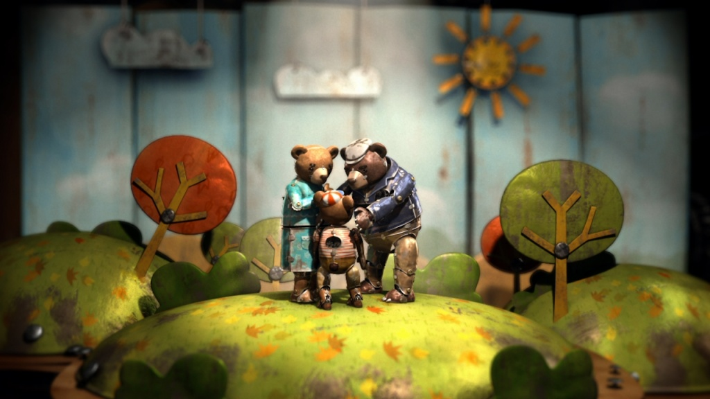 A scene from the nominated animated short